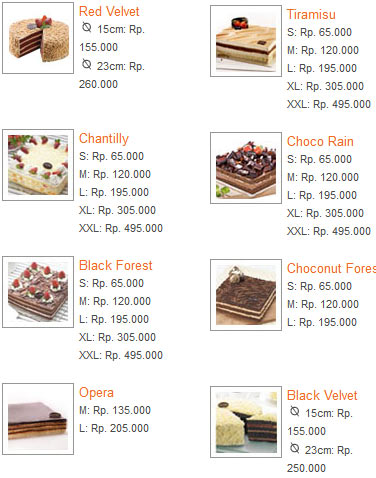 Tiramisu 9 All New Harga Tiramisu Cake The Harvest