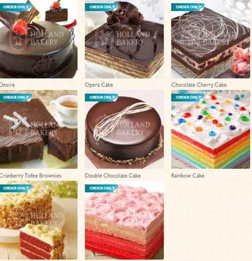 Harga Kue Holland Bakery 2019
