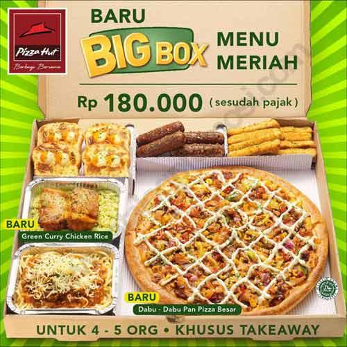 promo pizza big box
